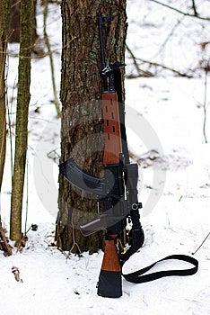 Special Modification Of Kalashnikov Stock Photography - Image: 8042992