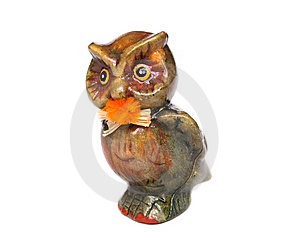 Decorative Owl Stock Photo - Image: 8043060
