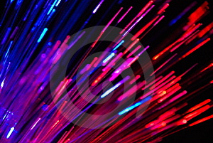 The Colorful Light Fibers Royalty Free Stock Photography - Image: 8044017