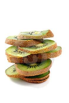 Slices Of Kiwifruit Stock Images - Image: 8044554