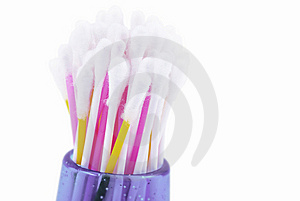 Cotton Sticks Royalty Free Stock Photos - Image: 8044598