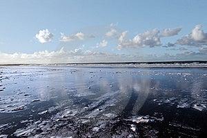 Coastal Reflections Royalty Free Stock Photography - Image: 8044677