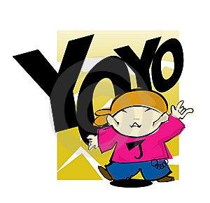 YOYO STREET DANCER Royalty Free Stock Photos - Image: 8044888