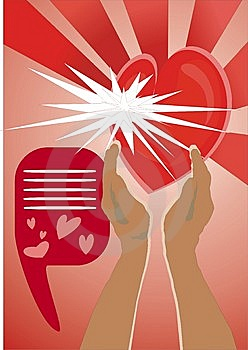 Heart In Hands Royalty Free Stock Image - Image: 8045226
