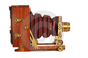 Very Old Camera Royalty Free Stock Photos - Image: 8045618