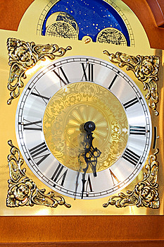 Clock Dial Royalty Free Stock Images - Image: 8049219
