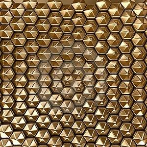 Hexagon Background Royalty Free Stock Image - Image: 8049246