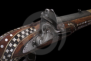 Part Of Afghan Cap Rifle Stock Images - Image: 8050164