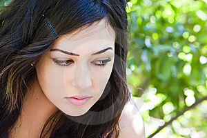 Young Woman Portrait Stock Photography - Image: 8050402