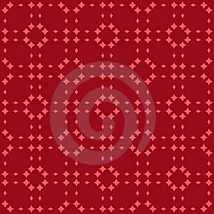 Red Nordic Pattern Stock Photos - Image: 8050713