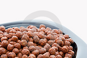 Instant Crunch Chocolate Breakfast Crop Stock Image - Image: 8051491