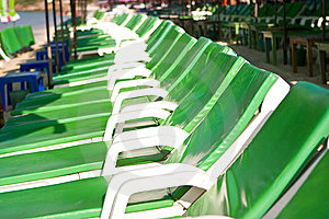 Chaise Longues Stock Photos - Image: 8052663