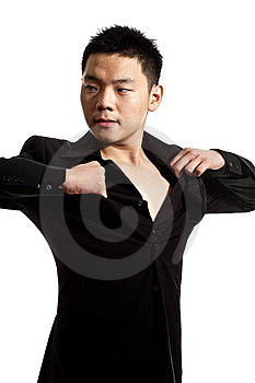 Stylish Asian Young Man Stock Photography - Image: 8053332