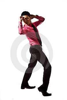 Asian Young Man In Stylish Attire Royalty Free Stock Photos - Image: 8053388