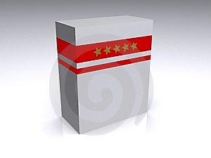 Software Box Stock Photo - Image: 8054840