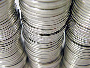 Coins Royalty Free Stock Images - Image: 8055999