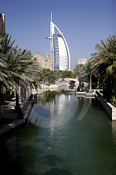 Burj Al Arab Hotel Royalty Free Stock Photo - Image: 8056365