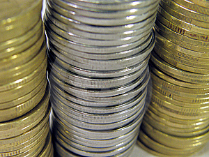 Coins Stock Image - Image: 8056771