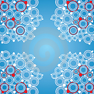 Winter Pattern.Vector. Stock Photography - Image: 8057242