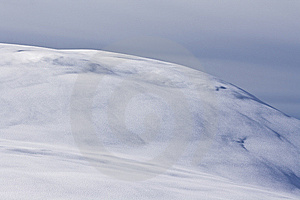 Snowy Hill Royalty Free Stock Photo - Image: 8057865