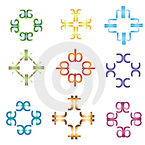 Symbol Made From Types Stock Photos - Image: 8059123