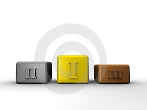Podiums Royalty Free Stock Images - Image: 8059169