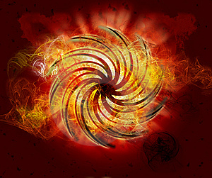 Black Spiral Stock Photography - Image: 8059512