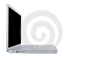 Modern And Stylish Laptop Royalty Free Stock Photography - Image: 8061827