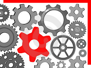 Gear Wheel Royalty Free Stock Image - Image: 8063306
