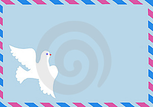 Vector Illustration Of The Postal Envelope Stock Photos - Image: 8063763