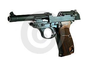 German WWII Pistol Stock Photo - Image: 8064170