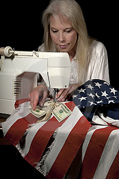 Mending American Economy Royalty Free Stock Photo - Image: 8064185