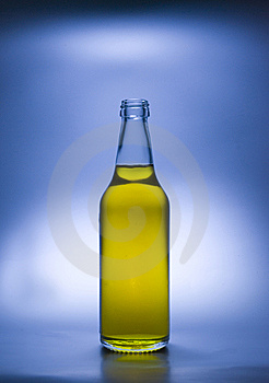 Bottle: In Rays Of Glory Royalty Free Stock Photography - Image: 8068217