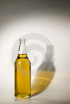 Bottle: In Rays Of Glory Royalty Free Stock Image - Image: 8068456