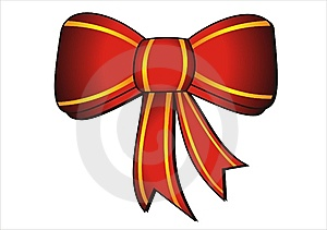 Ornamental Bow Royalty Free Stock Photography - Image: 8068687