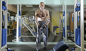 Exercise With Weight. Royalty Free Stock Images - Image: 8069939