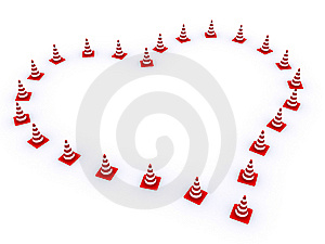Traffic Cones Royalty Free Stock Image - Image: 8070866
