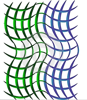 Open Weave Green And Blue Background Stock Photo - Image: 8071000