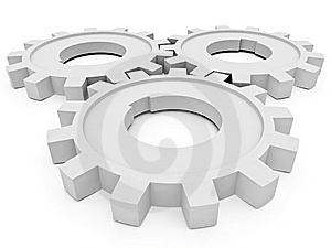 Beautiful Gears Stock Images - Image: 8071064
