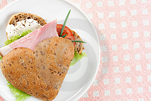 Tasty Sandwich Stock Photo - Image: 8071250