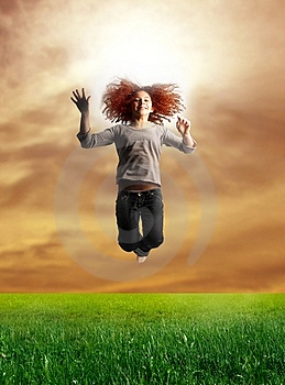 Jump Stock Photography - Image: 8071792