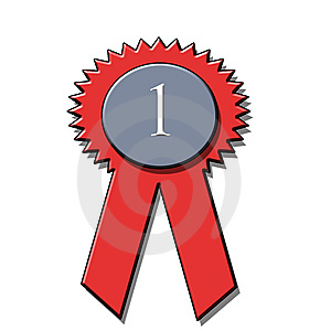 1st Place Award Ribbon Royalty Free Stock Images - Image: 8073649