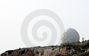 Radar Installation Stock Photography - Image: 8074812