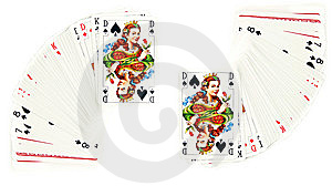 The Queen Of Spades Royalty Free Stock Photos - Image: 8075478