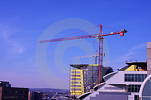 Sky Crane Stock Images - Image: 8075594