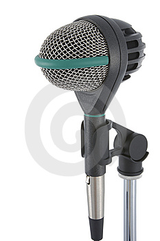 Microphone Royalty Free Stock Image - Image: 8076206