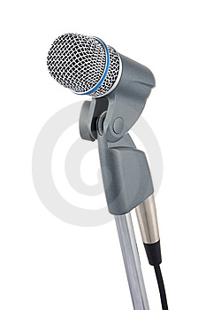 Microphone Stock Photos - Image: 8076223