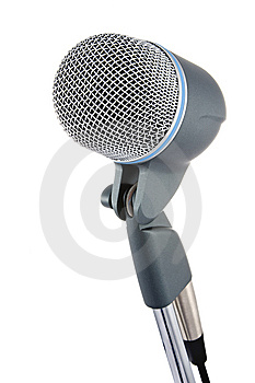 Microphone Royalty Free Stock Image - Image: 8076226