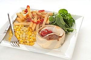 Homemade Meat Pie Stock Photo - Image: 8076270