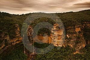 Beautiful Misty Waterfall Royalty Free Stock Photo - Image: 8077335